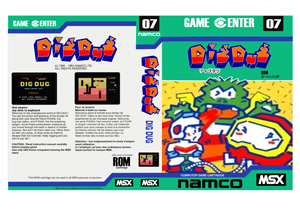 Dig Dug Cover