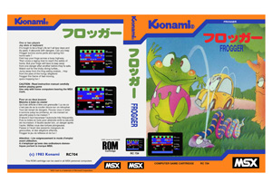 Frogger Cover