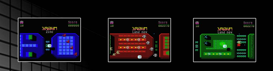Uridium msx screenshots
